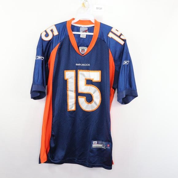 hot sale online 9381f ee284 Reebok Denver Broncos Tim Tebow Football Jersey 48